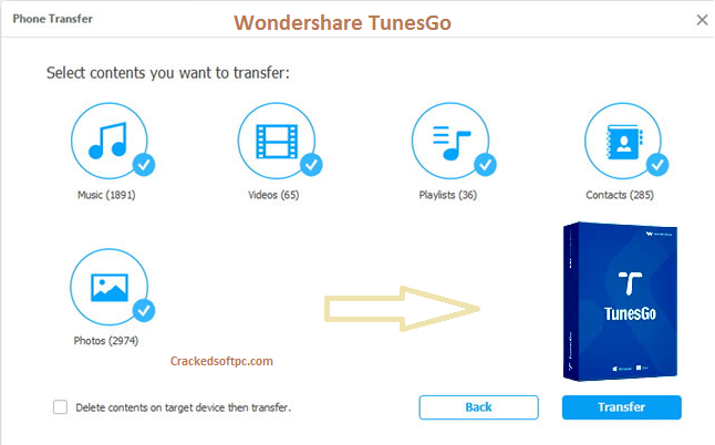 Wondershare TunesGo Key
