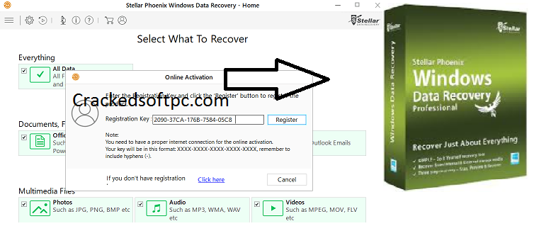 Stellar Phoenix Windows Data Recovery Keygen