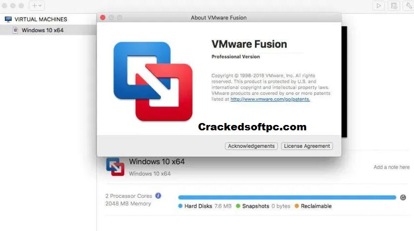 VMware Fusion Pro Key