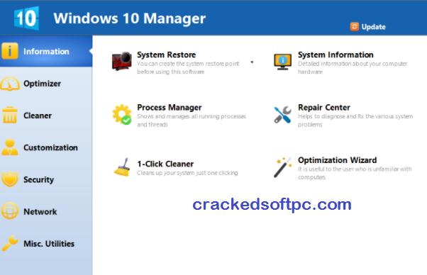 Window 10 Manager key